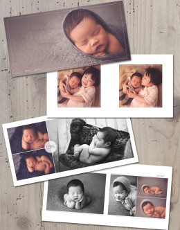Photographer photoshop templates album design