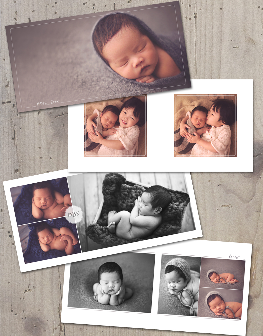 Laugh Grow Press – Template for Photo Album
